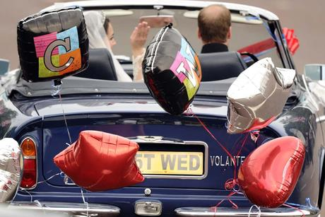 Aston Martin Just Wed - Reuters