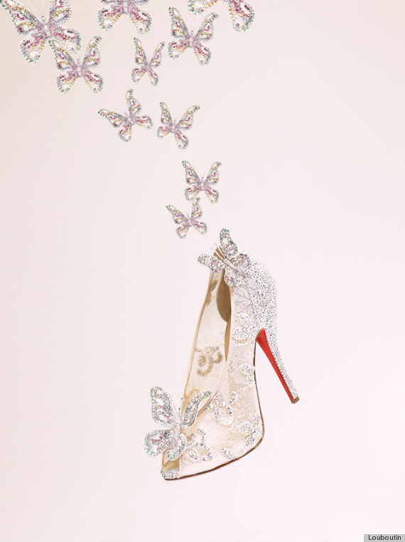 Cinderella Shoes by Louboutin - Huffingtonpost