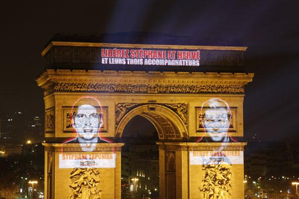 Projection Arc de Triomphe - 20 minutes