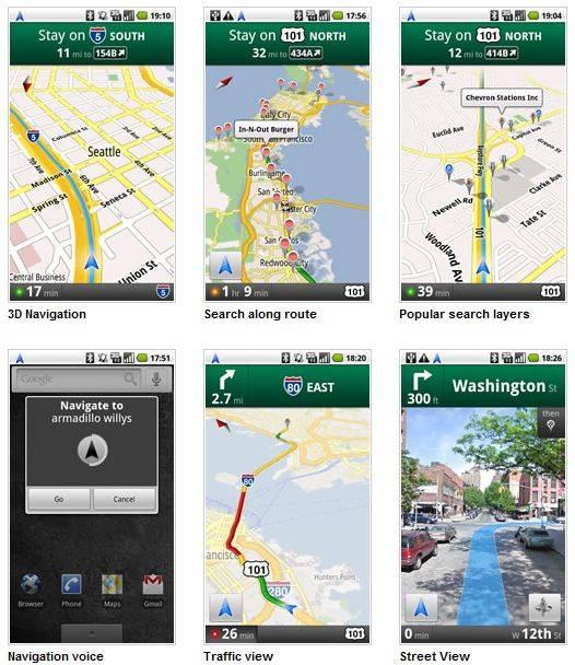 Le GPS de Google qui fait trembler Tom-Tom