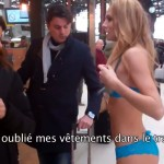 etam a envoyé 3 jolies filles en sous vêtements a la gare de lyon