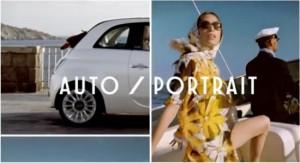 Publicité Auto-portrait de la nouvelle Fiat 500 S - Fiat