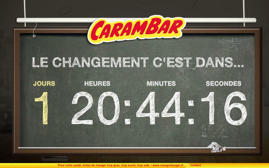 Site web Carambar - © Carambar