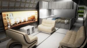 L'intérieur du Loft version Mars - Mars One