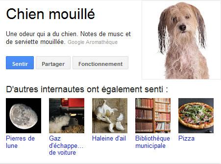 L'aromathèque de Google - Google