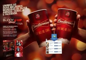 Le Buddy Cup, mélange de social et de technologie - © Budweiser