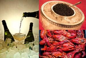champagne, langouste, caviar, tous les excès sont permis à cannes