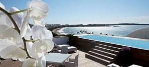 vue du penthouse majestic de l'hôtel majestic barrière à cannes