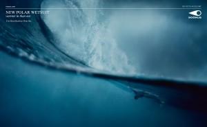 visuel 1 de la campagne print pour la marque de surfwear soöruz réalisée par Publicis Conseil