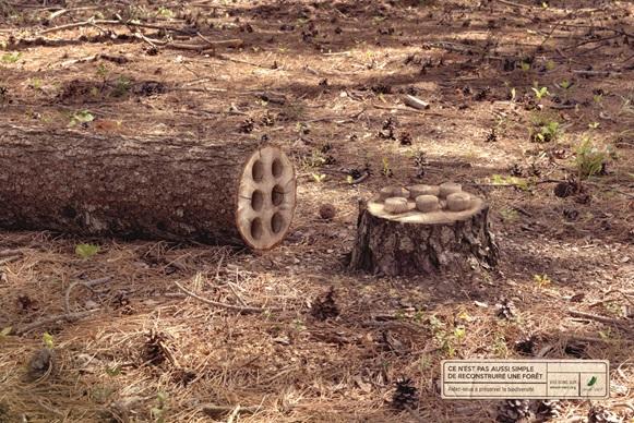 campagne print by Publicis Conseil pour Envol Vert qui défend la protection de l'environnement