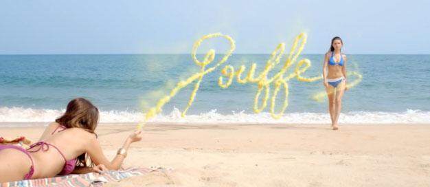nouvelle pub hawaiian tropic qui met en gardes les femmes contre les dangers de la plage sans parler du soleil mais de la jalousie féminine... Spot réalisé par JWT Paris