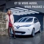 Renault souhaite sensibiliser les consommateurs à sa gamme de voitures électriques et lance un spot suprenant avec publicis conseil