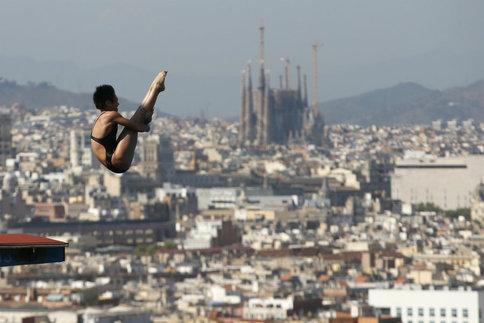 Mondiaux de Natation 2013 : découvrez le plongeon de haut vol !