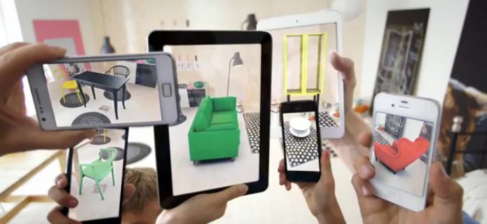 A l'occasion de la sortie de son catalogue 2014, IKEA lance une application de réalitée augmentée permettant de visualiser les meubles chez soi avant de les acheter !