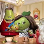 oasis rebondit sur l'actualité en postant une photo de fruits caricaturant la naissance du bébé royal