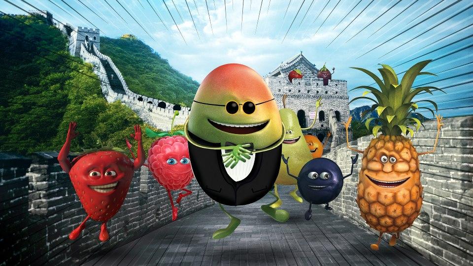 oasis rebondit sur l'actualité en postant une photo de fruits en train de faire un flashmob sur gangnam style