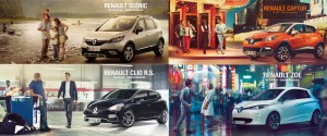 Renault lance une campagne de marques d'envergure dans la presse et fait voyager les lecteurs avec des visuels mettant en avant la frenc touch à l'international