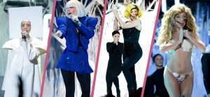 Lady Gaga à ouvert la cérémonie des MVA avec son titre Applause