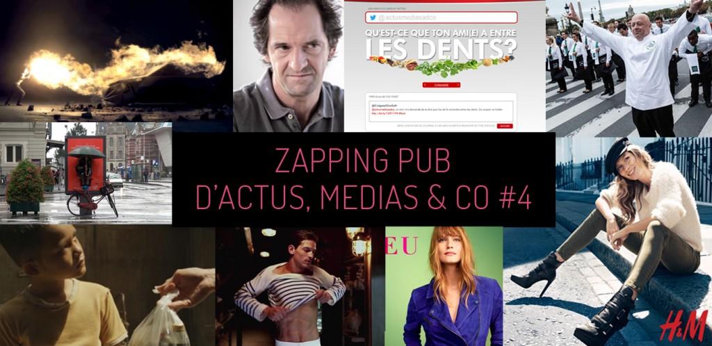 Zapping Pub #4 : les meilleures campagnes de la semaine !
