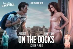 Pour son retour à la TV, Jean-Paul Gaultier à fait appel à l'agence ogilvy et à Johnny Green pour la réalisation d'un film publicitaire des plus romantique mettant en scène les deux parfums mythique féminin et masculin du couturier