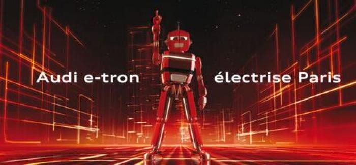 Audi a organisée une soirée d'exception au Electric Paris pour promouvoir sa technologie e-tron