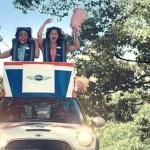 Mini Cooper lance une opération de street marketing insolite et transforme son modèle phare en montagnes russes !