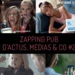 zapping pub du 8 septembre avec Vanity Fair, Kinder bueno, Apple, SNCF, Agent provocateur, décathlon et bien d'autres !