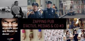 zapping pub du 15 septembre avec Dior, PMU, Canal +, La Fnac, la Française des Jeux, LG... et bien d'autres !
