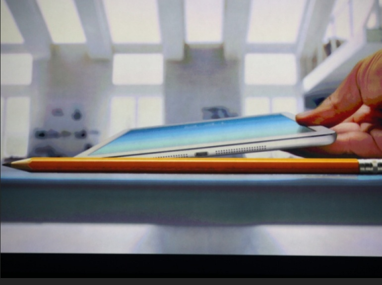 l'iPad Air plus fin qu'un crayon de papier
