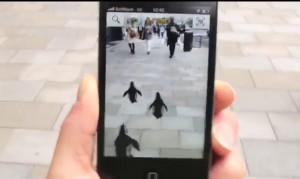 une application en réalité augmentée pour aller jusqu'au sunshine aquarium de tokyo