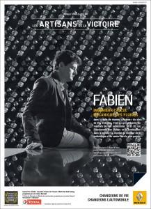 Portrait de Fabien pour l'opération de Brand Content de Renault