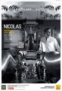 Portrait de Nicolas pour l'opération de Brand Content de Renault