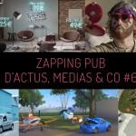 Zapping pub d'actus médias & co regroupant les meiilleures campagnes pub de la semaine, entre autre aubade, la foir'fouille, kangoo, motorola, oscaro.com, coca cola et bien d'autres !