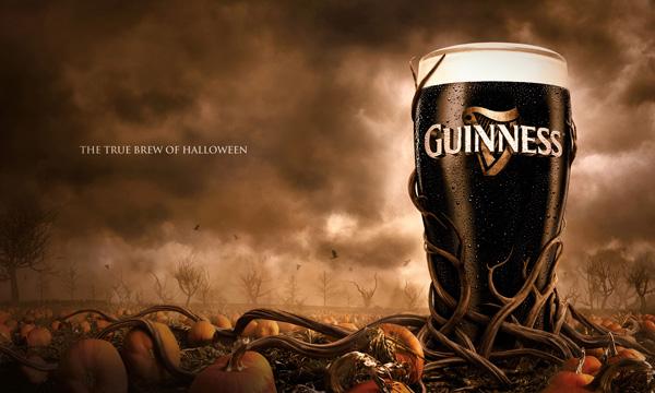la bière aussi fête halloween