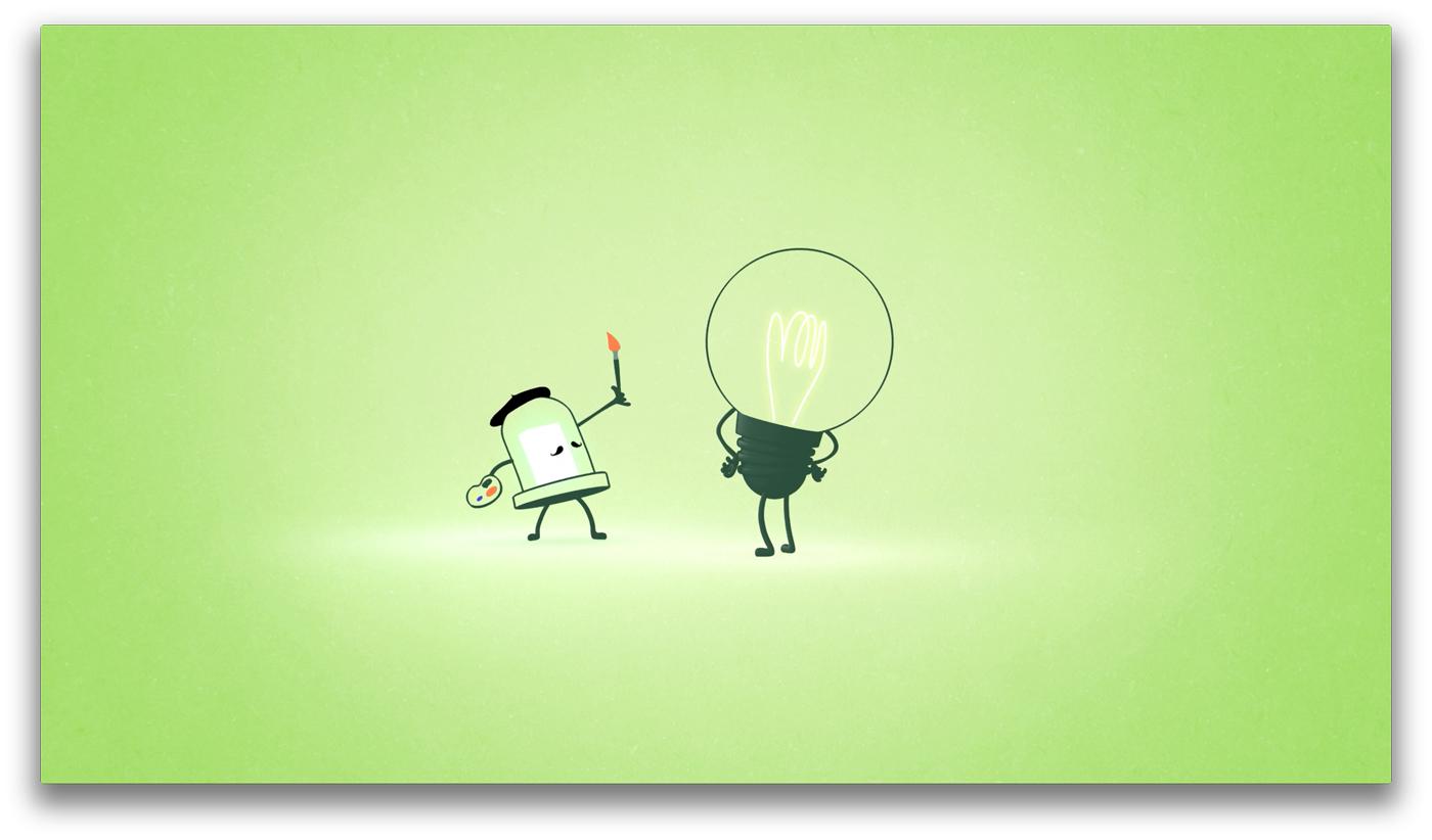 la LED déborde d'imagination pour se débarrasser de l'ampoule