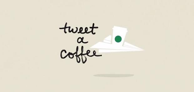 Starbucks s'allie a twitter et permet de tweeter un café