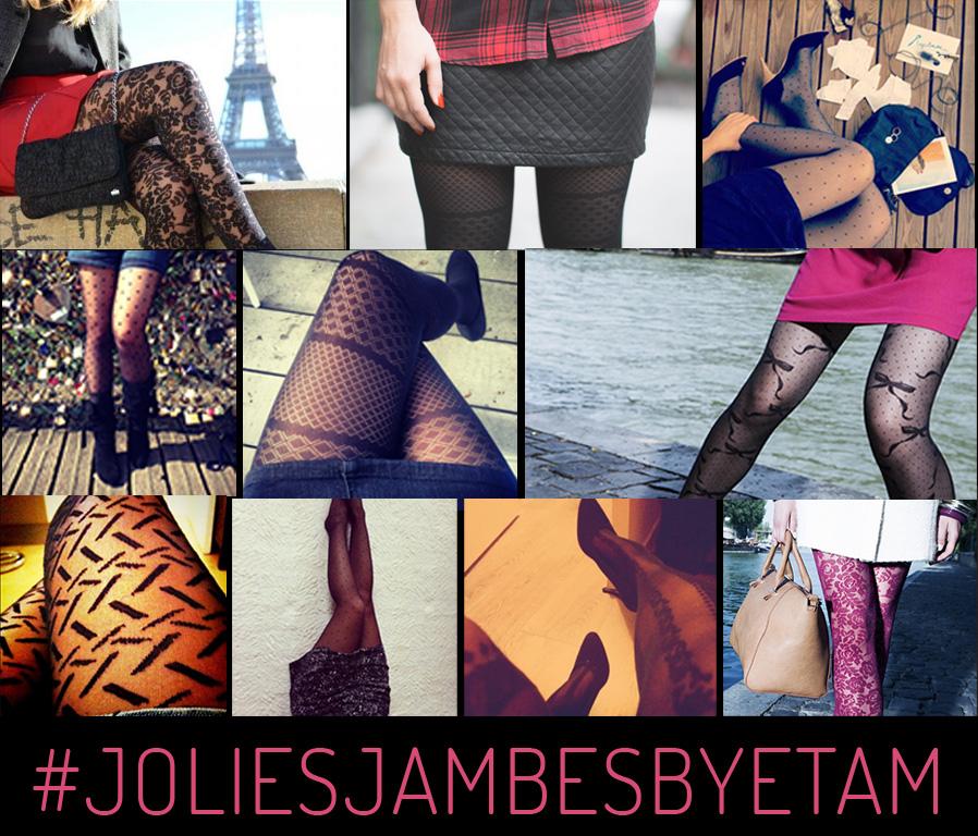etam lance un concours de jolies jambes pour promouvoir sa collection de collants