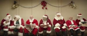 grâce à Google Helpouts, Kris tient son rôle de Père Noël à la perfection