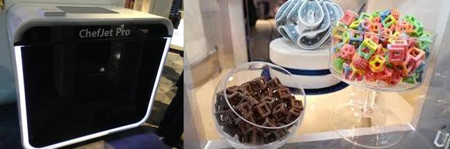 une imprimante 3d capable d'imprimer des bonbons et du chocolat !