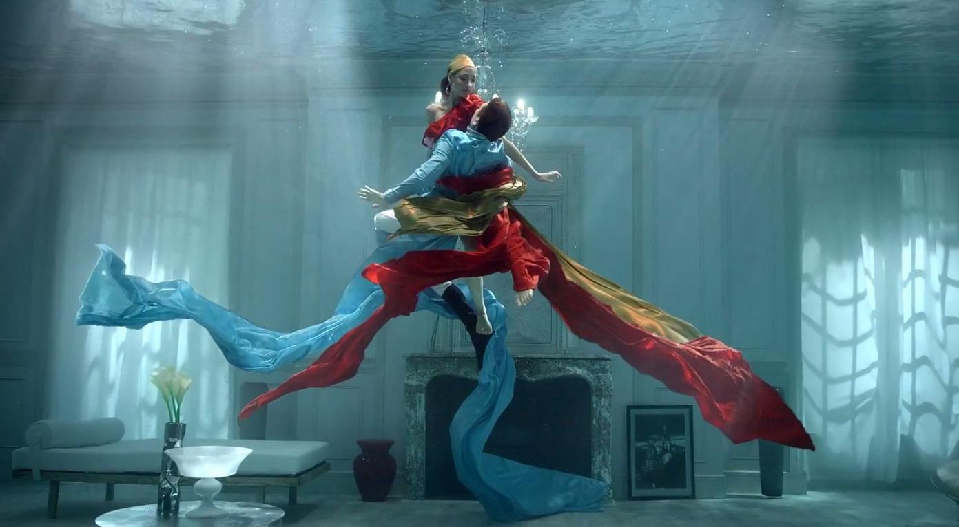 ces films publicitaires illustrent avec poésie la symbiose parfaite entre l'eau et les saveurs Kusmi Tea