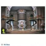 la gigantesque bibliothèque de Belle