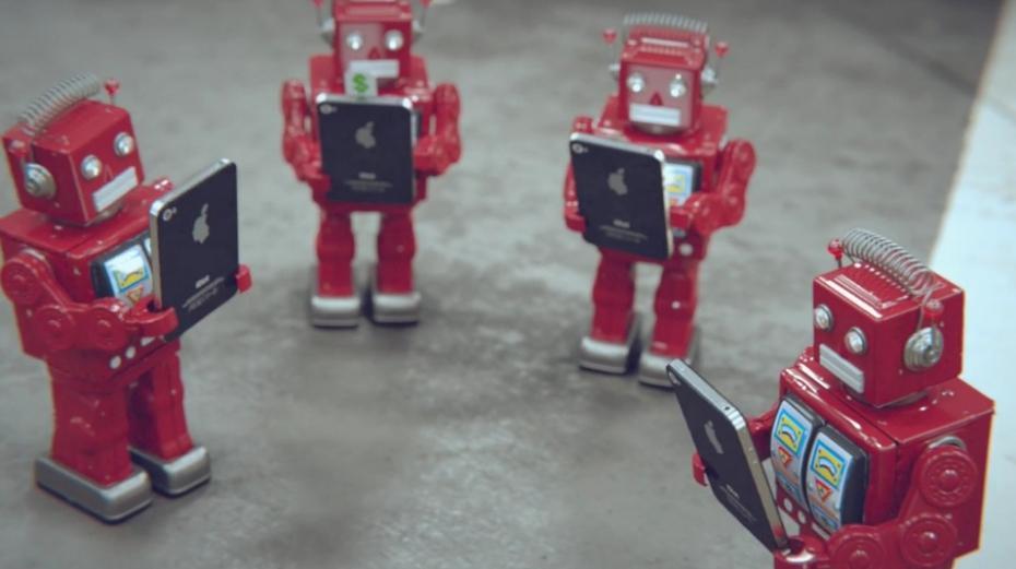 idiot une parodie humoristique d'iphone by big lazy robot