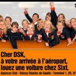 Sixt rebondi sur le scandale de DSK en proposant ses services lors de son arrivée