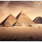 les pyramides d'Egyptes ont un camembert trivial purit qui s'est incrusté
