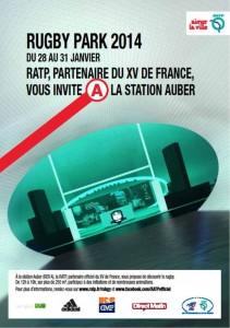 La RATP invite les voyageurs à faire une pause sportive entre deux trains à la station auber
