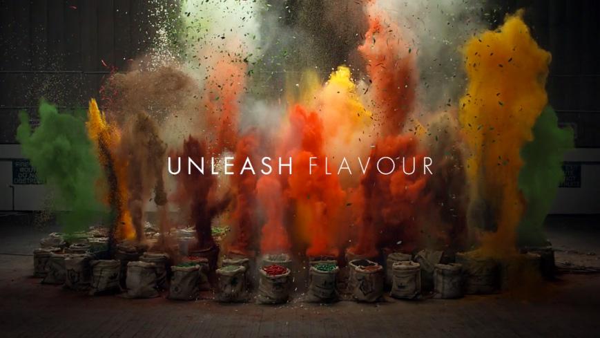 Schwartz met en scène les épices pour promouvoir ses flavour shot