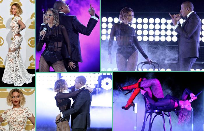 beypncé et Jay-Z ont fait monter la temperature du Staples Center avec Drunk In Love