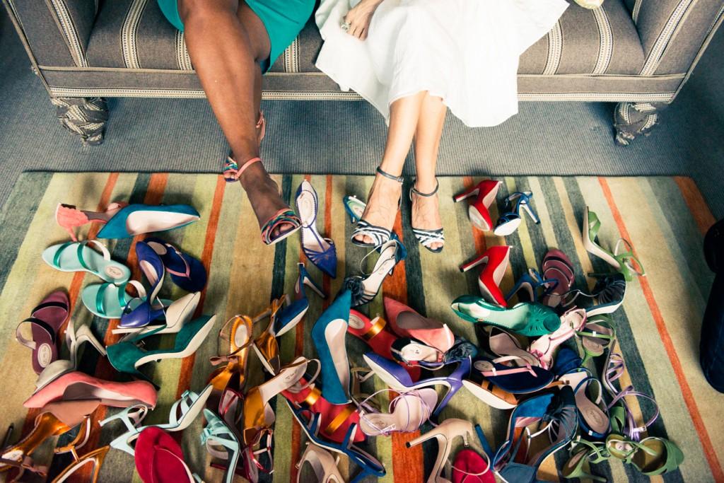 escarpins, sandales ouvertes et même ballerine, il y en a pour tout les goûts et sutout toutes les couleurs avec SJP