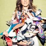une abondanc de chaussures pour mettre en avant les SJP lancée en février 2014