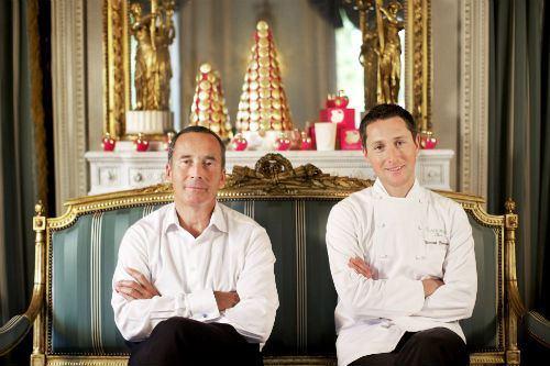 Olivier Cresp, parfumeur pour Nina Ricci et Vincent Lemains, chef de la création pâtissière chez Ladurée